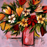Vivid Bouquet Prints by Domenico Provenzano