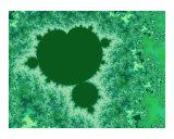 Green Mandelbrot Photographic Print by Vicky Brago-Mitchell