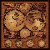 Starodávná mapa, kartografie III Obrazy