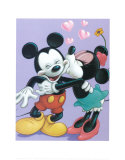 Mickey and Minnie, Sweet Romance Art