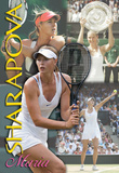 Maria Sharapova Tennis Sports Poster Affischer