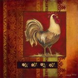 Murano Rooster I Prints by Kimberly Poloson