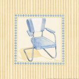 Retro Patio Chair III Art by Paul Brent