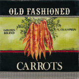 Old Fashioned Carrots Prints by Kimberly Poloson