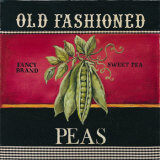 Old Fashioned Peas Print by Kimberly Poloson