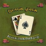 Blackjack Print by Gregory Gorham