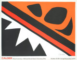 La Grenouille et Cie Prints by Alexander Calder