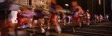 Blurred Motion of Marathon Runners, Houston, Texas, USA Photographic Print by  Panoramic Images