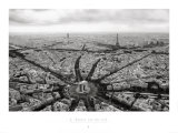 Paris, l&#39;Etoile Vue du Ciel Prints by Guillaume Plisson