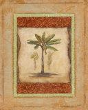Palm Botanical Study I Print by Susan Osborne