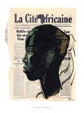 La Cite Africaine, Kin la Belle Prints by Titouan Lamazou
