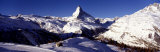 Matterhorn, Zermatt, Switzerland Fotografisk trykk av Panoramic Images,