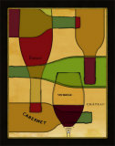 Wine Cellar II Poster by Pela Design