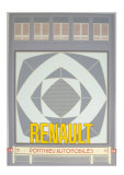 Renault Serigraph by Perry King