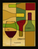 Wine Cellar I Poster by Pela Design
