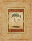 Palm Botanical Study II Prints by Susan Osborne