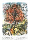 Sainte Famille Samlertryk af Marc Chagall