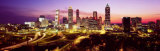 Night, Atlanta, Georgia, USA Photographic Print by  Panoramic Images