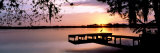 Sunrise Over Lake Whippoorwill, Orlando, Florida, USA Lámina fotográfica por Panoramic Images