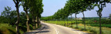 Road Through Provence, France Photographic Print by  Panoramic Images