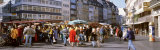 Farmer's Market, Bonn, Germany Photographic Print by  Panoramic Images