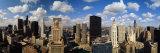 Skyline from Lake Michigan, Chicago, Illinois, USA Fotografisk trykk av Panoramic Images,