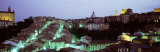 Light Illuminated in the City, Siena, Tuscany, Italy Photographic Print by  Panoramic Images