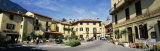 Tourists Sitting at an Outdoor Cafe, Menaggio, Italy Photographic Print by  Panoramic Images