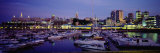 Boats Docked at a Harbor, Old Port, Quebec City, Canada Photographic Print by  Panoramic Images
