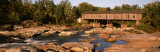 Covered Bridge Over the Ausable River, Essex County, New York State, USA Photographic Print by  Panoramic Images
