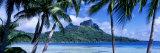 Bora Bora, Tahiti, Polynesia Fotografisk tryk af Panoramic Images