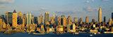 Hudson River, City Skyline, New York City, New York State, USA Fotografisk trykk av Panoramic Images,