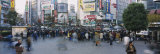 Crowd Walking at Shibuya Crossing, Tokyo, Japan Photographic Print by  Panoramic Images
