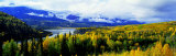 Panoramic View of a Landscape, Yukon River, Alaska, USA Photographic Print by  Panoramic Images