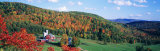 Hillside Acres Farm, Barnet, Vermont, USA Fotografie-Druck von Panoramic Images