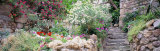 Garden, Old Town, Tossa De Mar, Costa Brava, Spain Photographic Print by  Panoramic Images