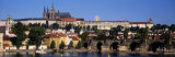 Vltava River, Prague, Czech Republic Photographic Print by Panoramic Images