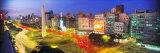 Plaza De La Republica, Buenos Aires, Argentina Fotografisk tryk af Panoramic Images,