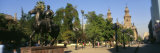 Plaza De Armas, City Scene, Santiago, Chile Photographic Print by Panoramic Images
