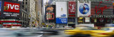 Traffic on a Street, Times Square, Manhattan, New York City, New York State, USA Photographic Print by  Panoramic Images