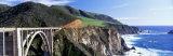 Bixby Creek Bridge, Big Sur, California, USA Fotografisk trykk av Panoramic Images,