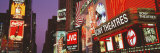Billboards on Buildings, Times Square, New York City, New York State, USA Photographic Print by  Panoramic Images