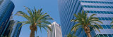 Low Angle View of Downtown Office District, Los Angeles, California, USA Photographic Print by  Panoramic Images