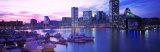 Sunset, Inner Harbor, Baltimore, Maryland, USA Photographic Print by Panoramic Images