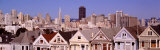 High Angle View of Houses, San Francisco, California, USA Photographic Print by  Panoramic Images