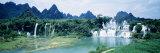 Detian Waterfall, Guangxi Province, China Fotografisk trykk av Panoramic Images,