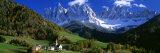 Saint Magdalena-kirken, Italia Fotografisk trykk av Panoramic Images,