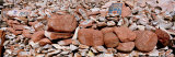 Mani Stones, Yushu, Qinghai Province, China Photographic Print by  Panoramic Images