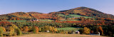 Autumn, Rolling Landscape, Barnet, Vermont, USA Photographic Print by Panoramic Images 