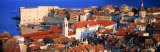 Aerial View, Old Town, Dubrovnik, Croatia Photographic Print by  Panoramic Images